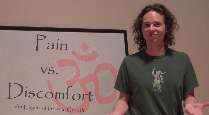 *Video:pain v discomfort